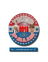 Trump Palin Picture Button by SaintAlbans