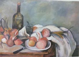 Cezanne Still Life Copy by frost-rot