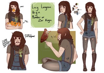 Lucy - Main character by Asteripheus
