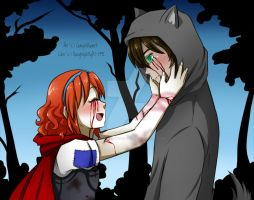 -Collab- Lily and Sam, as Little Red Riding Hood by NaughtyKittyDV-1992