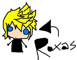 MS Paint Roxas by DirtyZephyrAssassin