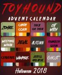 Toyhound Halloween Advent Calendar 4/12 OPEN by Yellow-K9