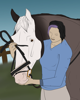 Taking A Bridle by StoryBookStables