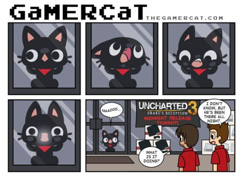 GaMERCaT - Midnight Release by celesse