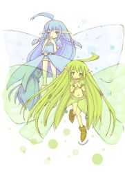 Two fairies by hissatsukunn
