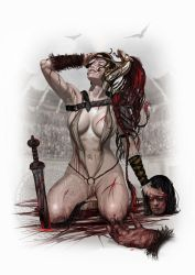 Blood and sand by Raro666