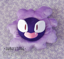 Pokemon: Gastly by sugarstitch