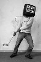 Television Suicide. by tbfdm