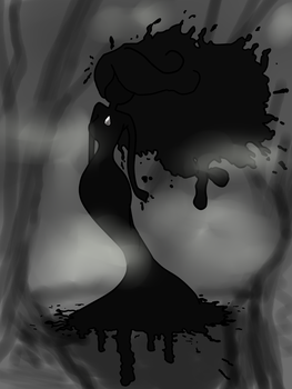 New Oc- Lady Of Blacc Ink Creek. by Ask-LillyPond-Prince