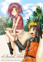 Summer Days -- narusaku by littlemissweetheart