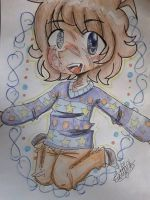 [Chibi COMISSION] Funny sweaters!! by Cattelyn