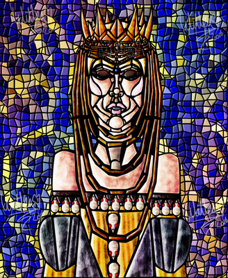 Queen Ravenna Mosaics - ''I Challenge You'' by WitTea