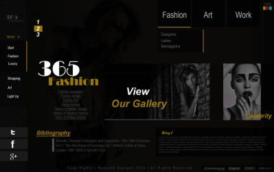 Fashion Website by mnoso90
