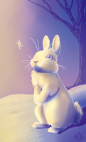 The Rabbit and The Snowflake by TheVerdantHare