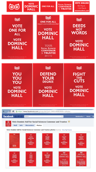 Dominic Hall 2011 Campaign by mapgie