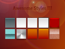 Awesome Styles (Set 3) by FelixderDrummer