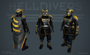 Helldivers - Commando Armor by OskarKuijken