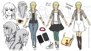 Referencesheet Carmen by lightshelter