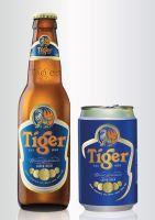 Tiger Beer Bottle and Can Model by hyoori