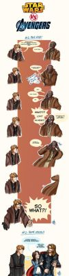 The Avengers VS Star Wars by Renny08