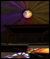 Stained Glass Rainbow 2 by TheBlindProphetess