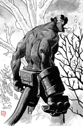 Hellboy by Stephen-Green