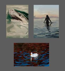 thumbnails water studies by Fabianparente