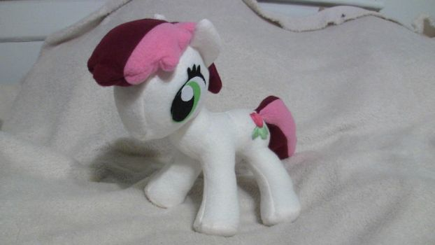 Roseluck plush by MillerMadeMares