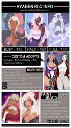 commissions!!!! [OPEN] by ayaben