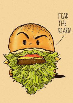 Fear The Beard by rhobdesigns