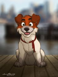 The pup from Manhattan by R-FakonWolf
