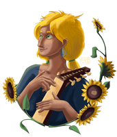 Sunflower by katzendiosa