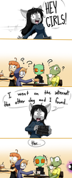 finding things on the interwebs by Sandwich-Anomaly