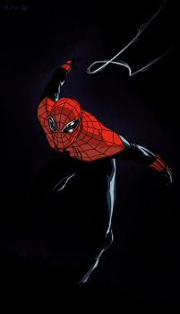 Alex Ross Spider-Man by Decepticoin