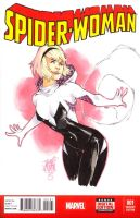 Spider-Gwen Sketch Cover by ArtisticPhun