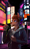 Neon Light by Sevil-s