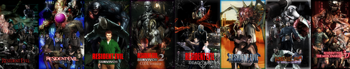 Resident Evil : Spin Offs by RPGxplay
