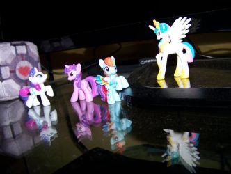 My collection of ponies cd... by busiek88