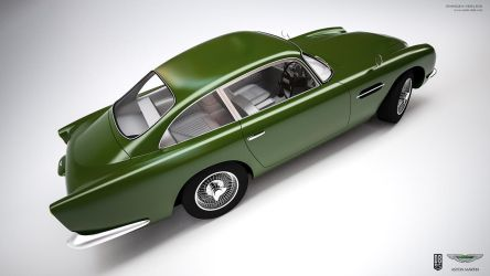Aston Martin DB5 Green by aash
