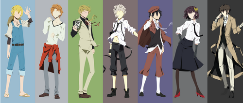 Armed Detective Company (Bungou Stray Dogs) [V2] by slezzy7