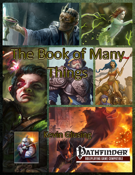 The Book of Many Things Pay What You Want Cover by mnorthwinter