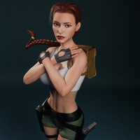 Classic Raider 29 by tombraider4ever