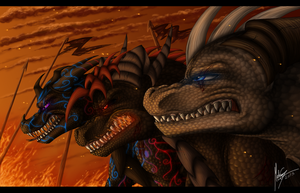 Going to war by Shadow-Kento