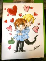 Ouran Host Club commission by Chub-E-Cat-Studios