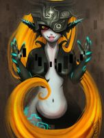 Midna doodle by b-inky