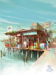 Chew Jetty by FeiGiap