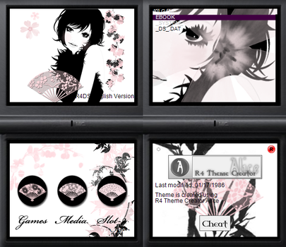 NDS theme: Ingenue by Reameth