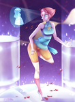 Pearl - [COLLAB with MoonLitAlien] by Renarde83