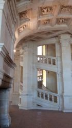 Chambord - Castle - Stairs 01 by HildaAlonso