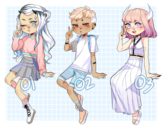 soft demon adopts [CLOSED] by ayaben